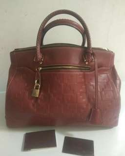 Pre💗 Authentic Bonia Leather Limited edition