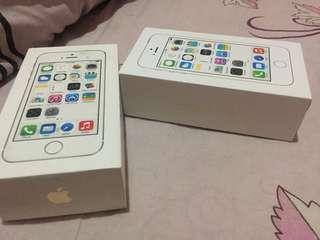 Box iphone 5s gold