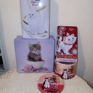 CAT tin boxes