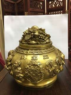 Copper Wealth pot -Limited 1pcs only