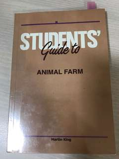 Students' guide to animal farm by Martin King
