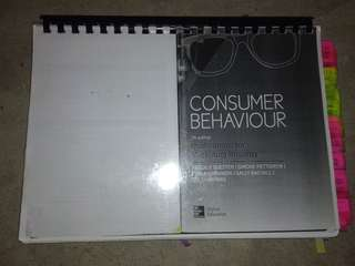 Consumer behaviour textbook 7th edition