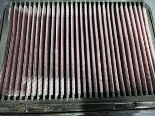 Toyota Wish ZGE20 K&N drop in air filter