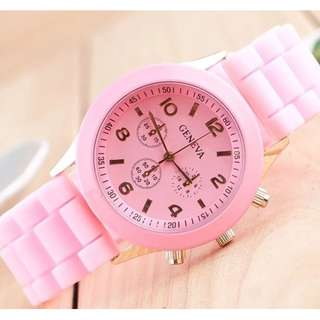 [GW-8] Geneva Silicone Watch