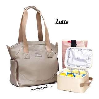 Latte Sling Cooler Diaper Bag