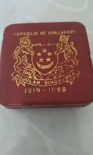 1969 Singapore Gold Coin