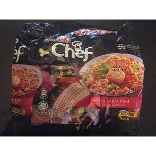 現貨-特價!馬來西亞🇲🇾Mamee chef泡麵/拉麵-咖哩叻沙