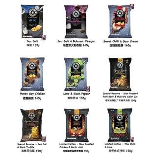 澳洲零食代購 Red Rock Deli Potato Chips 150-165g 澳洲人熱愛薯片品牌分享裝