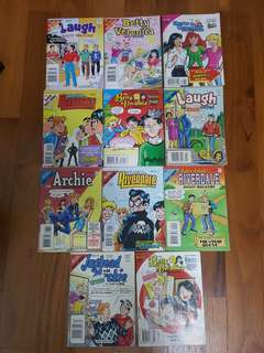 🚚 ARCHIE COMICS COLLECTIBLES (THIN)