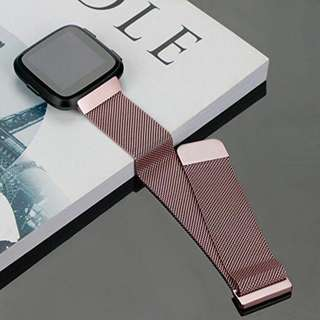 Free Mailing! Fitbit Versa Milanese Replacement Strap - Pink