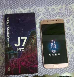 Samsung J7Pro Pink Edition
