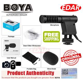 BOYA BY-VM01 DIRECTIONAL VIDEO CONDENSER MICROPHONE ««ORIGINAL & OFFICIAL BOYA»»