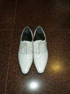 Pedro White Shoes