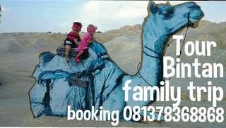 Family trip to Bintan island