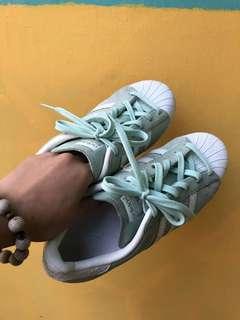Adidas Originals Mint Suede Superstar