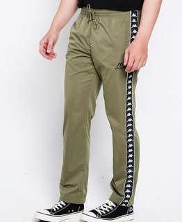 Trackpants Kappa Striped Green