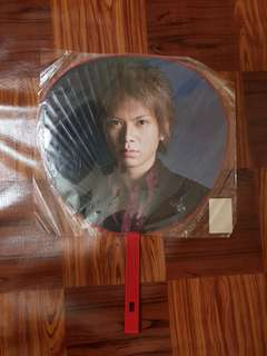 NEWS Shigeaki Winter Party Diamond 2008-2009 Jumbo Uchiwa