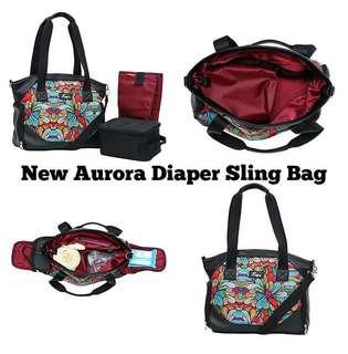 New Autumn Sling Cooler Diaper Bag