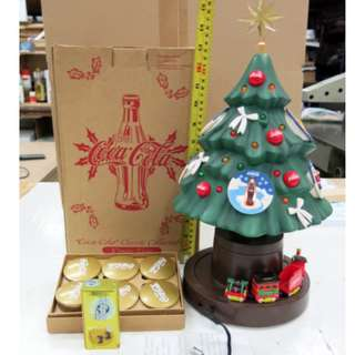 可樂著燈音樂聖誕樹