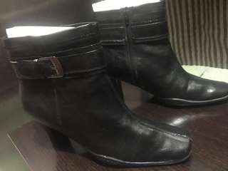 Barely Used Black Combat Boots