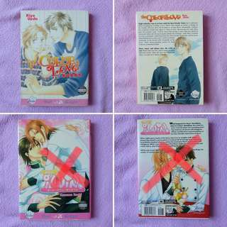 Yaoi manga (5 titles available)