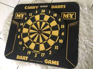 Dart game board vintage