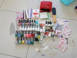 manicure and pedicure bundle set
