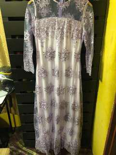 NEW Zalia lace purple pastel