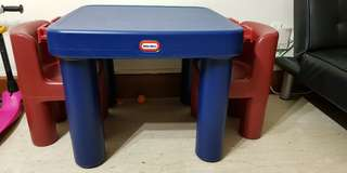 Little Tikes Table with Drawers And Chairs