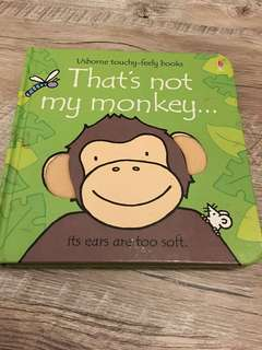 Usborne Touchy Feely - That's not my monkey
