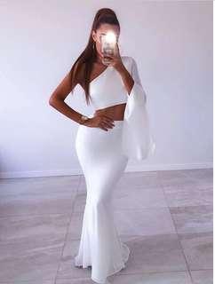 Sexy One shoulder Evening Dress