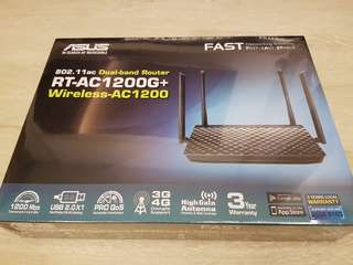 BNIB Asus Dual Band Router RT-AC1200G+ Wireless-AC1200