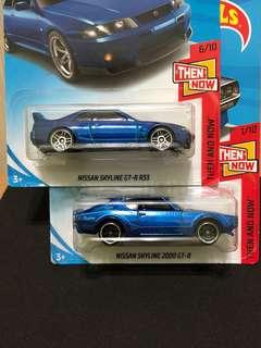 Hot Wheels Nissan Skyline GT-R