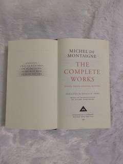 THE COMPLETE WORKS BY MICHEL DE MONTAIGNE