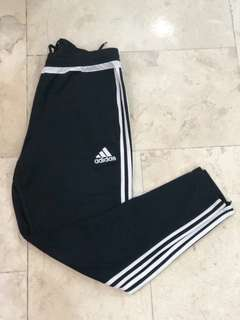 Authentic Adidas Track Pants w/ Zip