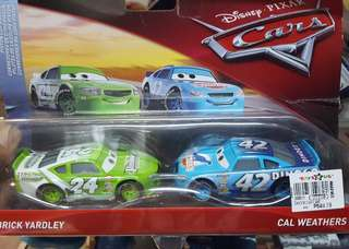 AUTH.PIXAR CARS COLLECTIBLES