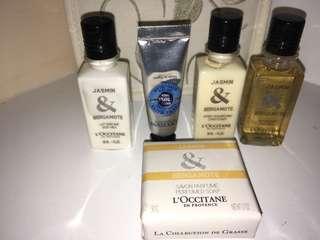 L'Occitane Travel kit