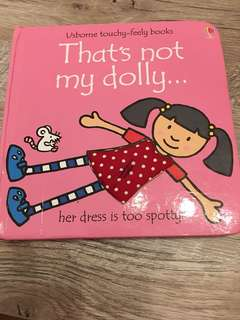 Usborne - That's not my dolly