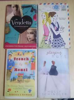 ASSORTED BOOKS P40 each