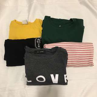 GRAPHIC TEE BUNDLE (ALL 5 FOR 1 PRICE)