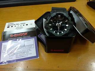 Casio G Shock Original GA 700 1B (BLACK)  New 100%