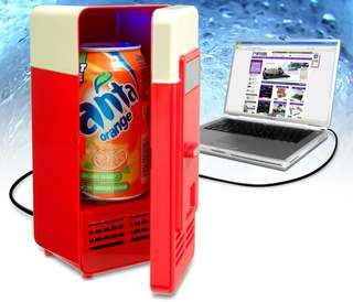 USB迷你雪櫃 可放汽水一罐. USB mini fridge. can fit in a can of coca cola