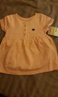 12m Carters baby doll dress