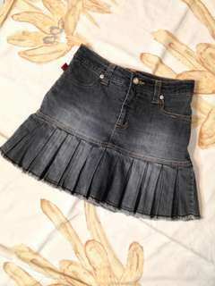 HW Denim Skirt