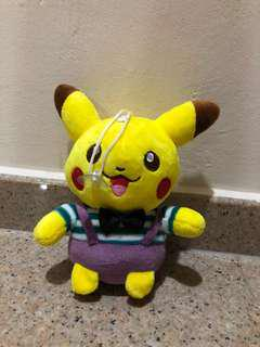Pikachu pokemon soft toy