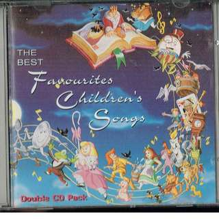 🚚 The Best Favourites Children's Songs - set of 2 CDs
