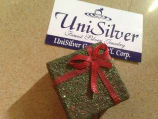 Unisilver Necklace with heart pendant with freebies