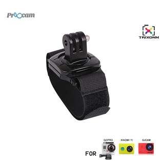 Proocam Pro-F045 Hand Wrist Strap the Adaptor revolve 360-degree for Gopro Hero , SJCAM , MIYI