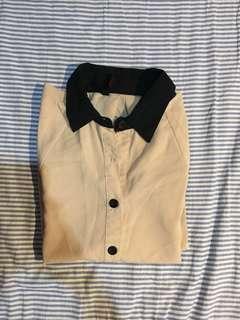 Korean style batwing shirt