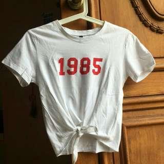 H&M Tie Shirt 1985